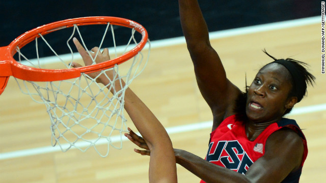 Tina Charles during the London 2012 Olympic Games.