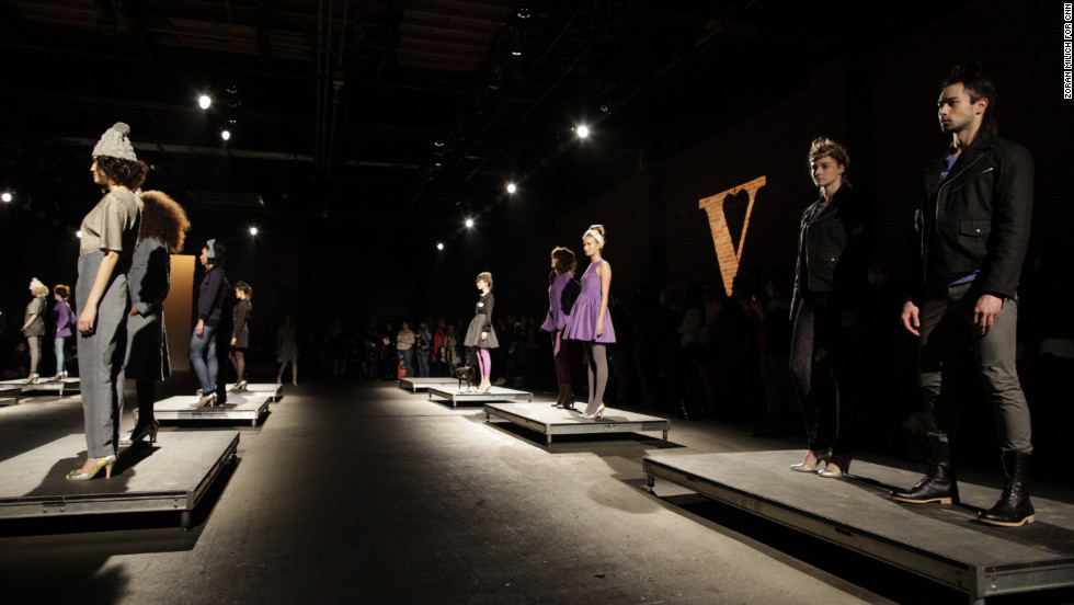 The clothing company debuted its first ready-to-wear line in Wednesday's show.