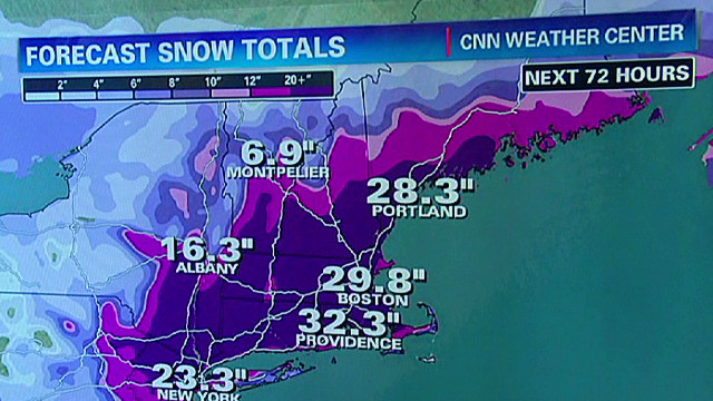 Northeast braces for 'historic' blizzard