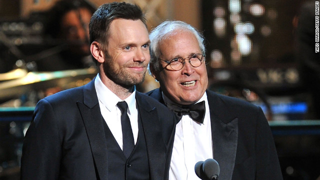 "Joel McHale told Howard Stern that Chevy Chase used the 'n'-word on the set of ""Community."""