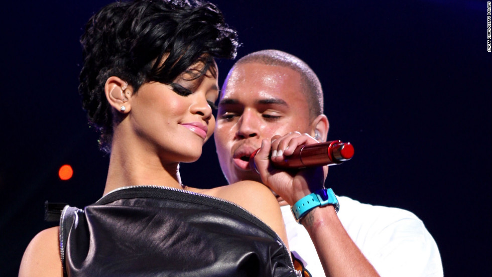 Rihannas Instagram Photos Catch Chris Browns Attention Cnn