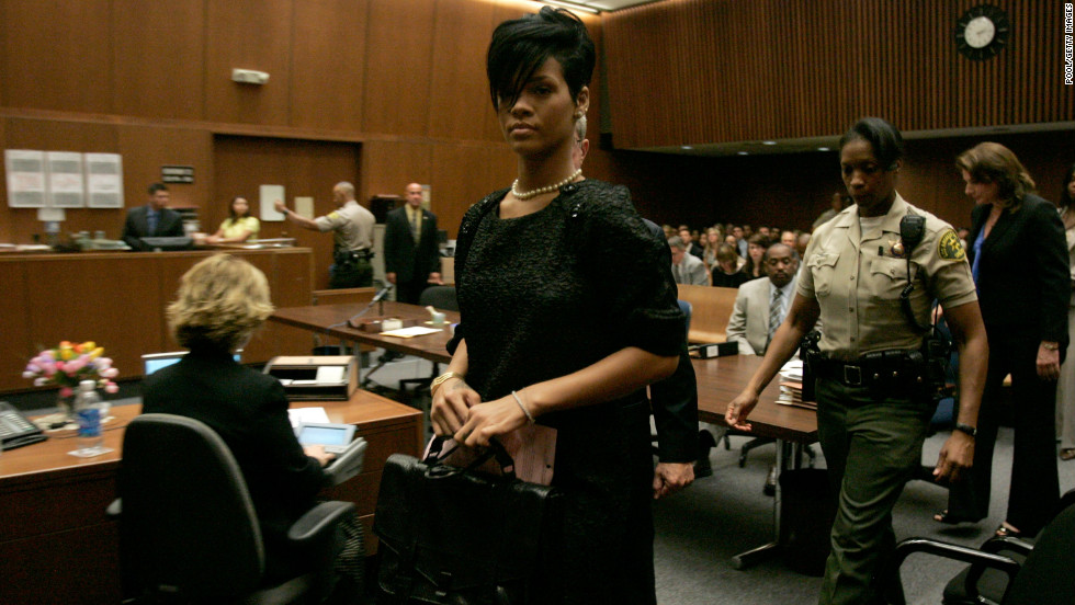 "Months after the incident, Rihanna left a preliminary hearing at court in Los Angeles in June 2009. ""We just fell really fast, and the more in love we became, the more dangerous we became for each other -- equally as dangerous -- because it was a bit of an obsession,"" Rihanna said during a <a href=""http://abcnews.go.com/2020/video?id=9020947"" target=""_blank"">2009 interview with Diane Sawyer</a>."