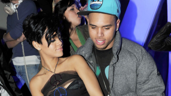 February 2009: Brown's legal troubles began when Los Angeles police responded to a 911 call that a woman was assaulted on a Hollywood street just after midnight on February 8. They found his girlfriend, Rihanna, then 20, with a badly bruised face. Brown, then 19, turned himself into police hours before he and Rihanna were to perform at the Grammys.