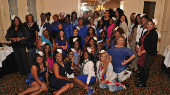 The Honorary New Orleans Baby Doll Ladies gather at the Annual Luncheon of Excellence on January 5.