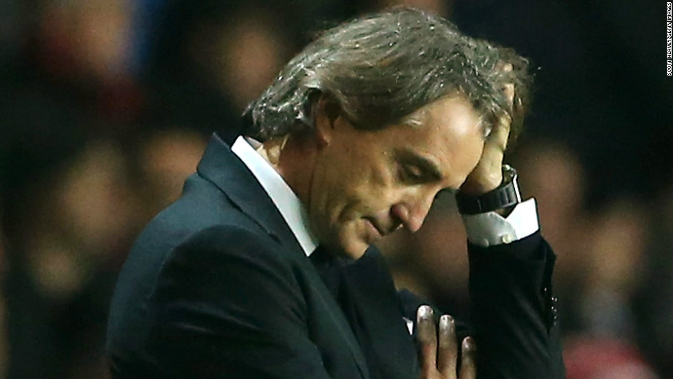 Mancini was sacked a year to the day after winning the league title. He departed in May 2013 and was replaced by Pellegrini. Mancini moved to Turkey where he coached Galatatasaray before taking charge of Inter MIlan in November 2014.