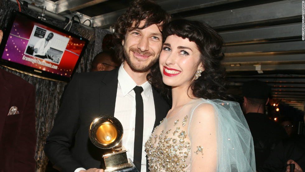"After declaring, ""I love this song,"" Prince presented Gotye and Kimbra the Grammy for record of the year for their earworm ""Somebody That I Used To Know."""