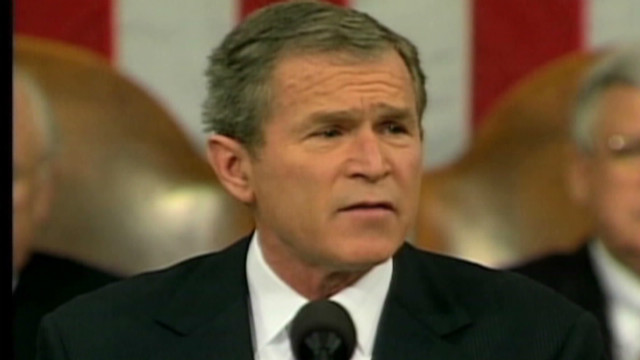 2002: Bush defines 'axis of evil'