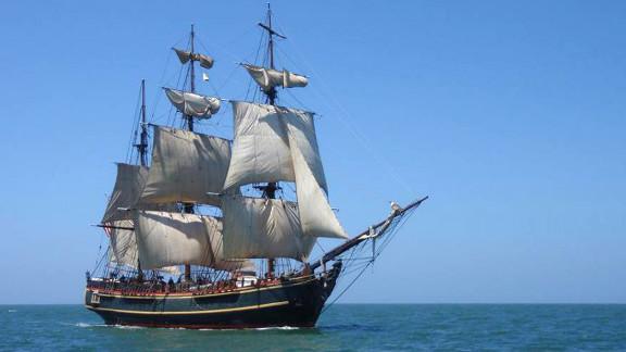 The HMS Bounty sank in 2012 during Hurricane Sandy. Claudia McCann, widow of the Bounty