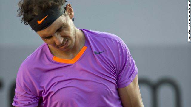 Defeat at the VTR Open in Chile was Rafael Nadal's fifth in 41 clay court finals.