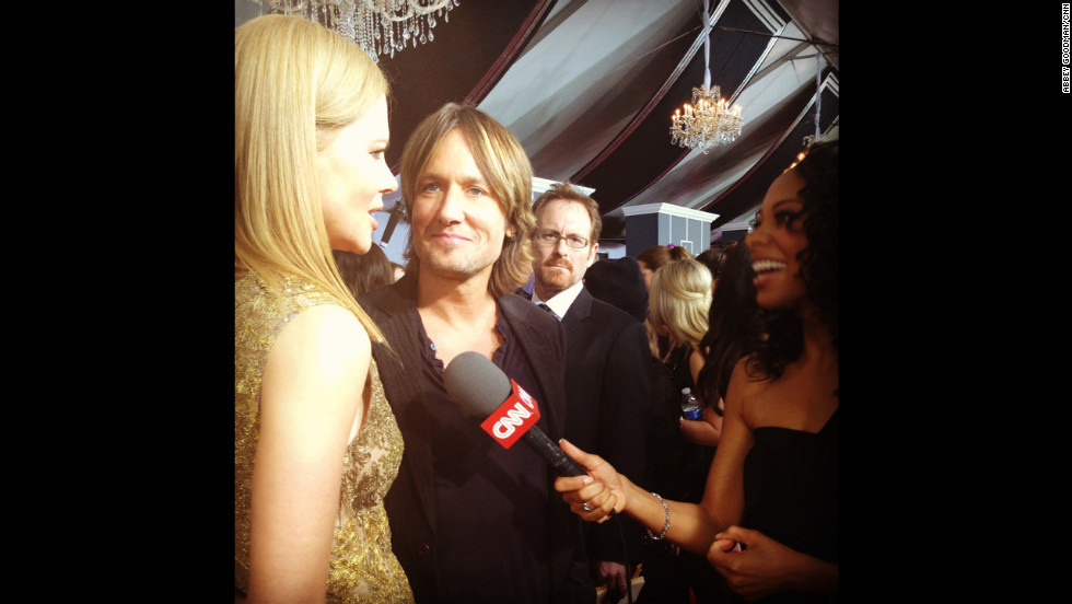 Can we talk about Keith Urban's look of love at Nicole Kidman for a second?