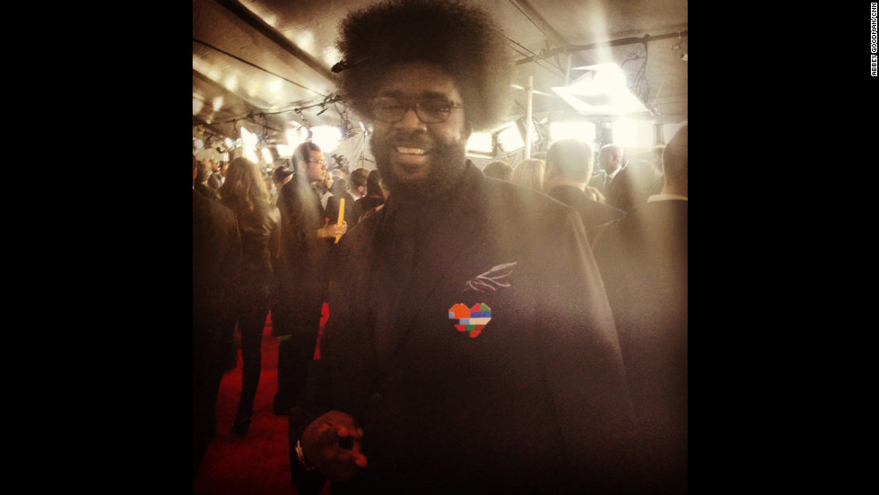 Questlove's heart is always in the right place.