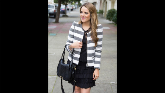 On Gal Meets Glam, San Francisco-based blogger Julia Engel not only shares looks but also tells readers where to find high-fashion brands on sale and provides cost-effective but similar-looking alternatives. She also creates step-by-step video tutorials on how to up your beauty game.
