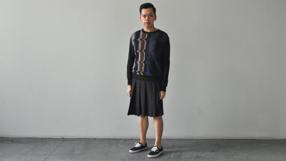 """One of the few do-it-yourself menswear bloggers, Izzy Tuason embraces foppish style """"through the appreciation of fine craftsmanship"""" in his blog The Dandy Project, with tutorials on how to bead collars or style kilts. The """"boy from Manila who likes to dress up and loves to talk about it"""" also uses his site to show off looks mixing couture and vintage pieces from American, Japanese and Filipino designers, among others."""