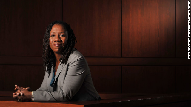 Sherrilyn Ifill, president and director-counsel of the NAACP Legal Defense and Education Fundat the University of Maryland in Baltimore