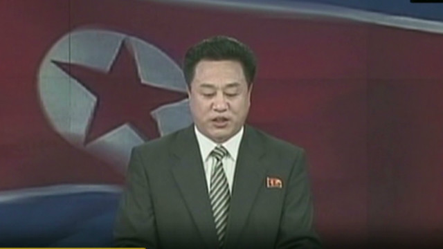 Watch N. Korea announce nuclear test