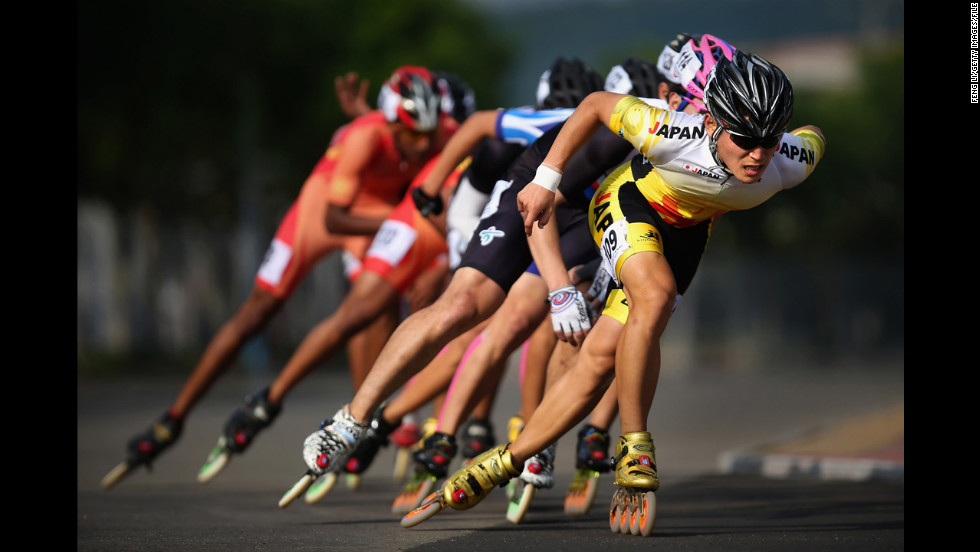 The Federaton Internationale de Roller Sports is the international governing body for all roller-skating-based sports. Championships have been conducted in roller hockey, road racing, track racing and artistic roller skating, according to the federation's website.