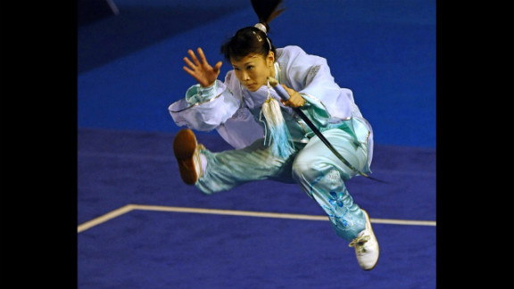 Wushu is a Chinese martial art, practiced as a means of combat in ancient times and by common citizens as a means of self-defense and physical training, according to the International Wushu Federation.