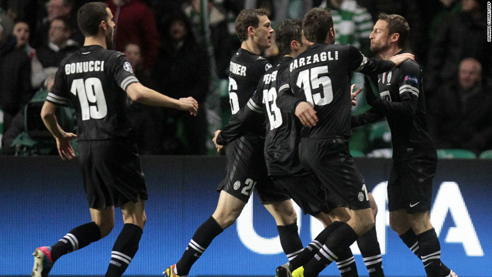 Juventus stun Celtic Park thanks to Matri's early strike and temporarily silence one of the most partisan crowds in European football. The goal came following a dreadful defensive error from Efe Ambrose, who helped Nigerian win the Africa Cup of Nations just last Sunday.