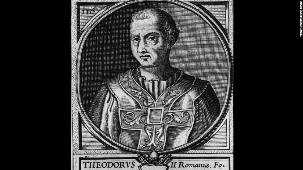 Pope Theodore II reigned for 20 days in 897.