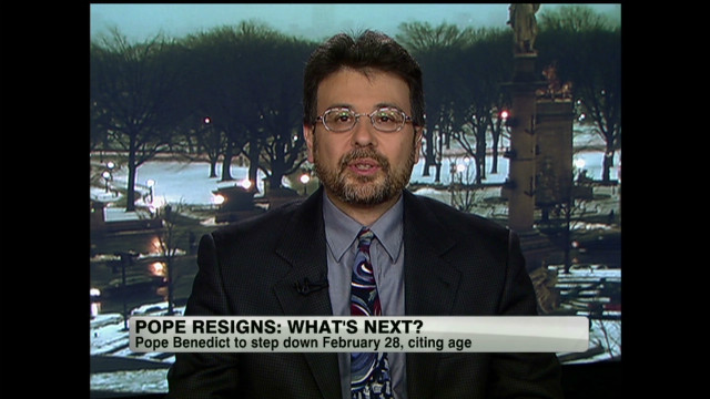 Historian: Pope's resignation is noble