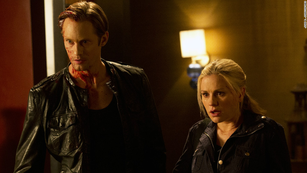"The love life of Sookie Stackhouse (Anna Paquin) saw more than its share of twists and turns through the years on ""True Blood,"" but fans seemed to embrace whoever her boyfriend was (such as Alexander Skarsgard, left, as Eric) at any given moment."