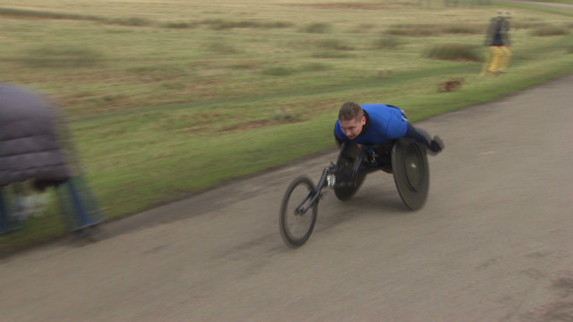 David Weir Paralympian determination