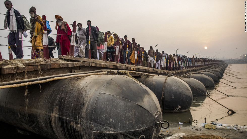 The Kumbh Mela, believed to be the largest religious gathering on Earth, is held every 12 years on the banks of Sangam.