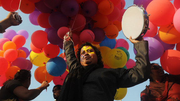 Global protests kicked off in India Thursday in the 1 Billion Rising campaign for women