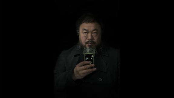 Second prize people -- staged portraits single: Ai Weiwei, the well-known artist and critic of the Chinese government, appears in a February 6, 2012, portrait in Beijing.