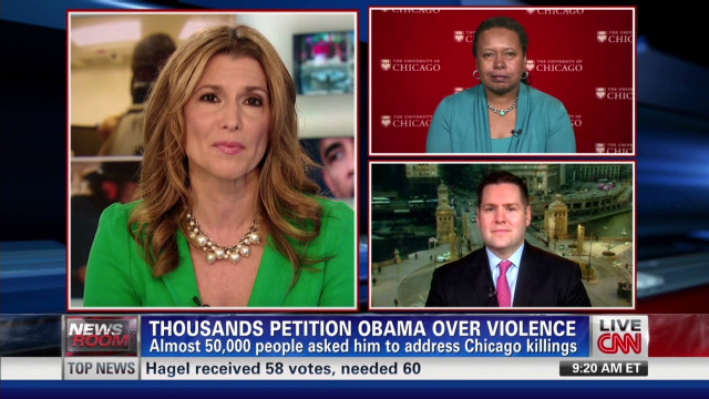 Chicago's gun violence: Can Obama help?