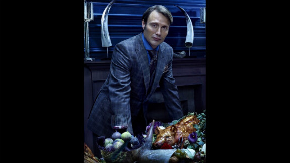 """The third season of the critically acclaimed horror series is underway, as """"Hannibal"""" has fled to Europe in order to escape capture for his violent crimes (not to mention his choice of cuisine). It airs on NBC Thursday nights at 10 p.m. ET."""