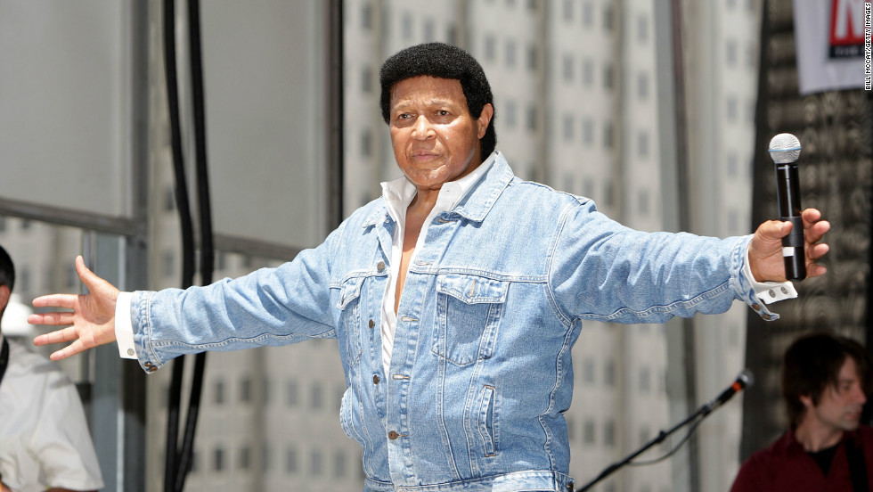 Chubby checker picture no make up