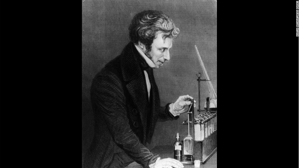 Michael Faraday used the principles of electricity to develop the electric motor, showing that pure science leads to technological innovations, in the 1800s.