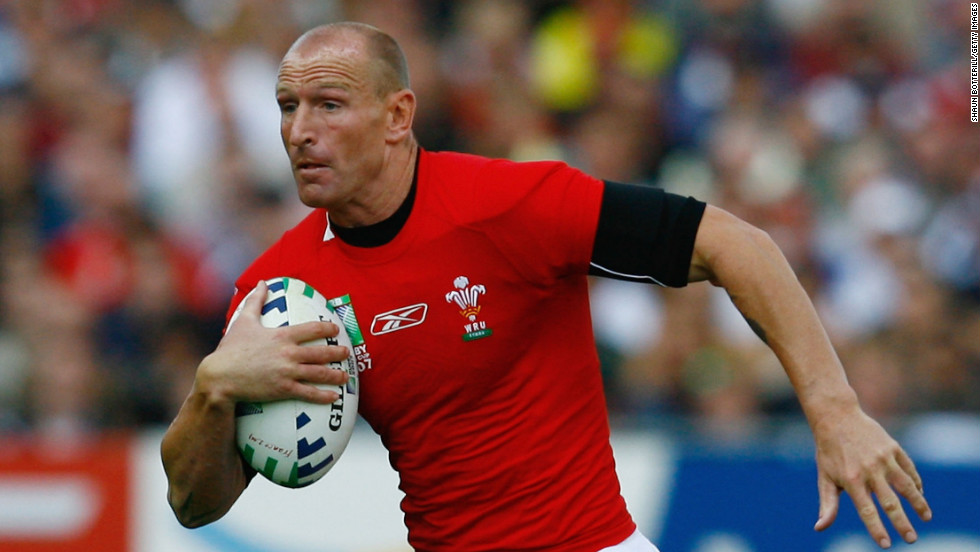 Rugby player Gareth Thomas of Wales spoke about being gay to a British news channel in 2009.