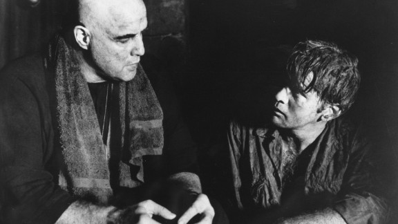 """""""Apocalypse Now"""" achieved instant acclaim upon its release in 1979, but one of the film's stars, Martin Sheen, right, with Marlon Brando, was not nominated for his role as Capt. Benjamin L. Willard. The horror."""