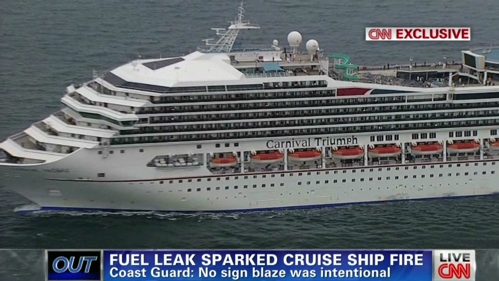 Coast Guard Cruise Ship Fire Started With Leaking Fueloil Line CNN - Coast guard cruise ship