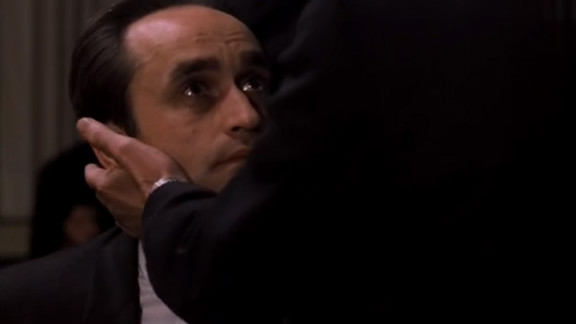 """""""I know it was you Fredo. You broke my heart!"""" John Cazale broke lots of moviegoers' hearts as the fragile and vulnerable Fredo Corleone in """"The Godfather: Part II."""" He was never nominated for the role, though he has the distinction of being the only actor to have every feature film he appeared in ( a total of five) be nominated for best picture."""