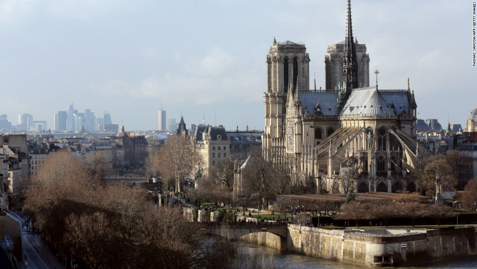 While much of Paris changed dramatically with the city's late 19th-century modernization, Ile de la Cite and its Notre Dame cathedral are still much as they were during the movie's time.