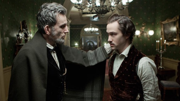 """Daniel Day-Lewis and Joseph Gordon-Levitt star in <strong>""""Lincoln""""</strong> about the ill fated 16th president of the United States. The role as Abraham Lincoln won Day-Lewis a best actor Academy Award."""