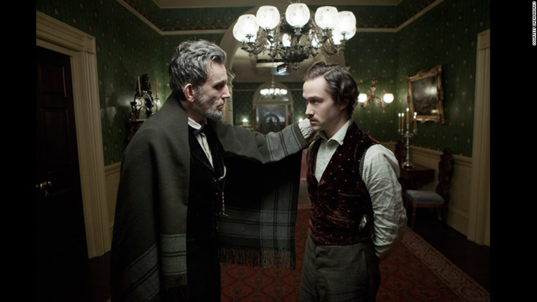 "Daniel Day-Lewis and Joseph Gordon-Levitt star in <strong>""Lincoln""</strong> about the ill fated 16th president of the United States. The role as Abraham Lincoln won Day-Lewis a best actor Academy Award."
