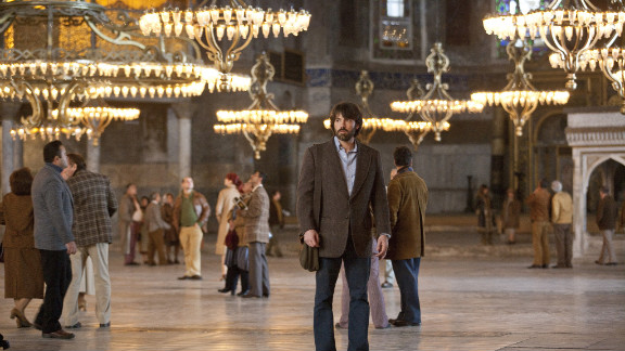 """The Oscar nominees for best picture take moviegoers all over the world -- such as Istanbul's Hagia Sophia, where """"Argo"""" had a scene. Indeed, while much of """"Argo"""" is set in Iran, filming for many of its scenes took place in Turkey. Locations in and around Washington also appear in the film directed by and starring Ben Affleck."""