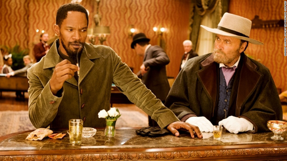 "Much of Quentin Tarantino's ""Django Unchained,"" starring Jamie Foxx, left, was filmed in the Louisiana town of Edgard."