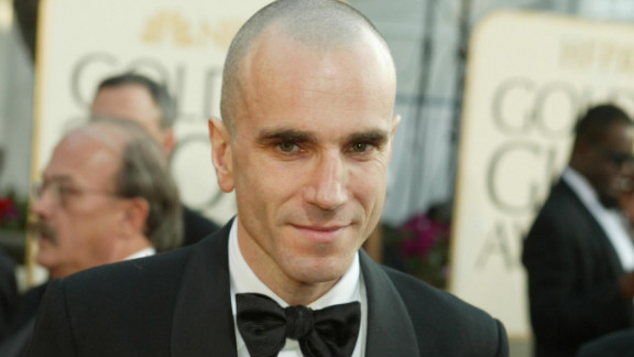 """Lincoln"" marks Daniel Day-Lewis' fifth Academy Award nomination. The actor, who has won the Oscar for best actor twice before (""My Left Foot"" in 1989 and ""There Will Be Blood"" in 2007) is pictured here at the 2003 Golden Globe Awards."