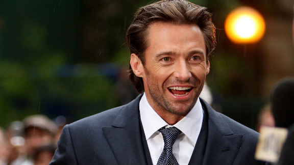 "Jackman, 44, shown here at the ""Australia"" premiere in 2008, has also appeared in films such as ""Kate & Leopold,"" ""The Prestige"" and ""Real Steel."""