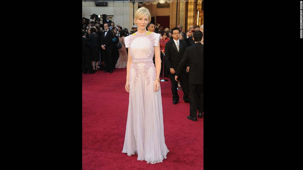Cate Blanchett's 2011 Oscar dress received mixed reviews, but the pastel Givenchy Couture gown was certainly a look to remember.