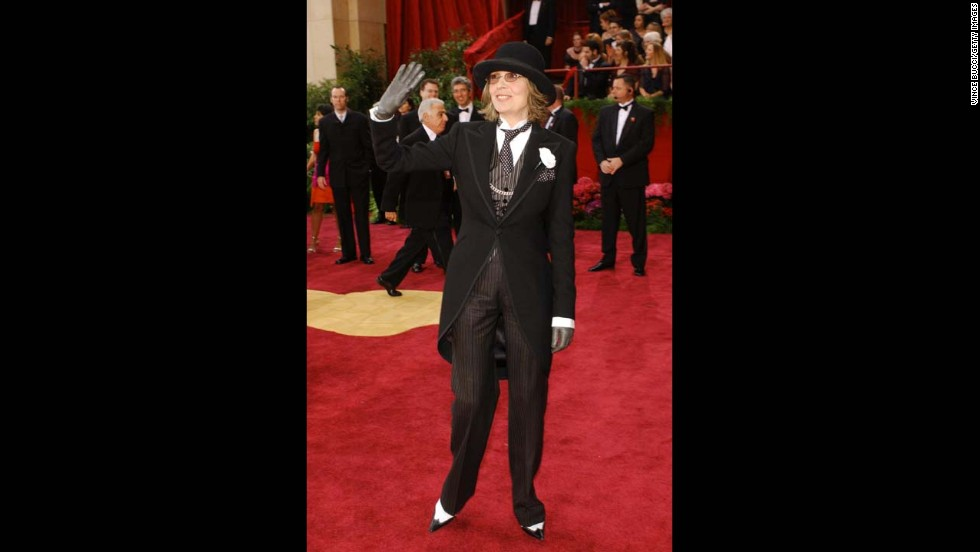 Diane Keaton is known for rocking menswear inspired looks, so no one was surprised to see the actress walk the red carpet wearing a Ralph Lauren suit in 2004. However, the ensemble did earn Keaton a spot on quite a few worst dressed lists.