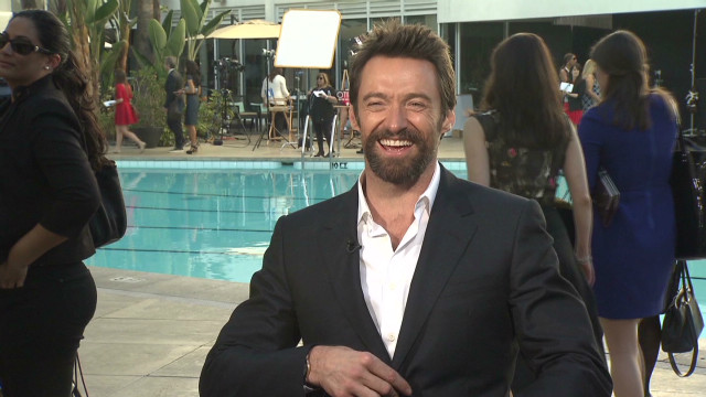 Hugh Jackman at the Oscars Luncheon