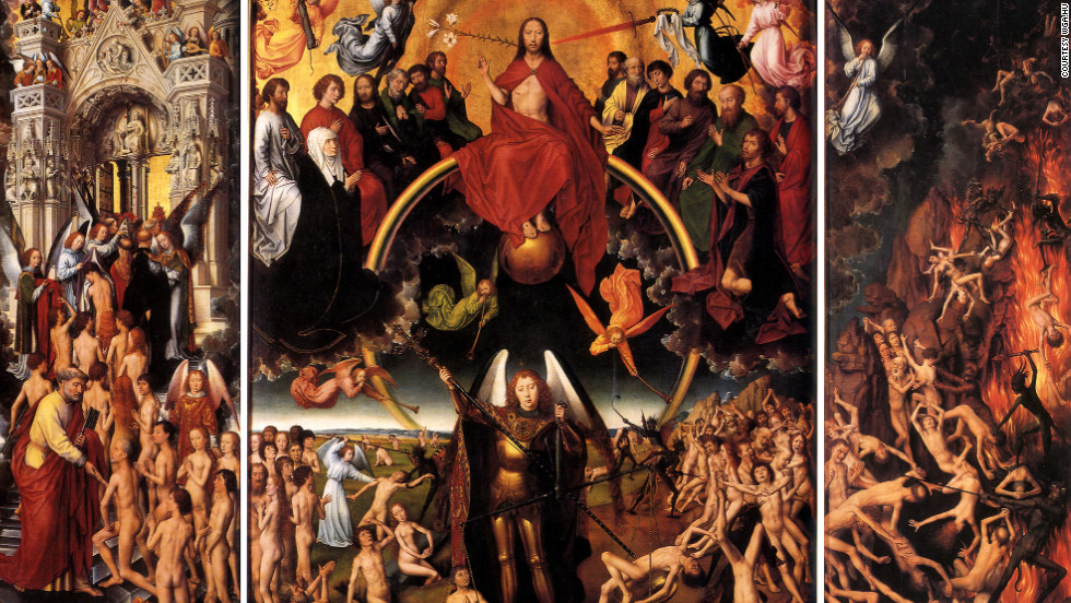 "In 1473, Hans Memling's ""The Last Judgment"" was stolen by pirates and became the first documented art theft."