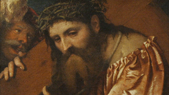 "Many works of art that were taken by the Nazis were never recovered. Others were returned after years of legal battles. ""Christ Carrying the Cross,"" by Italian artist Girolamo de"