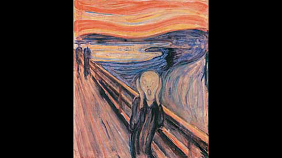A version of Edvard Munch